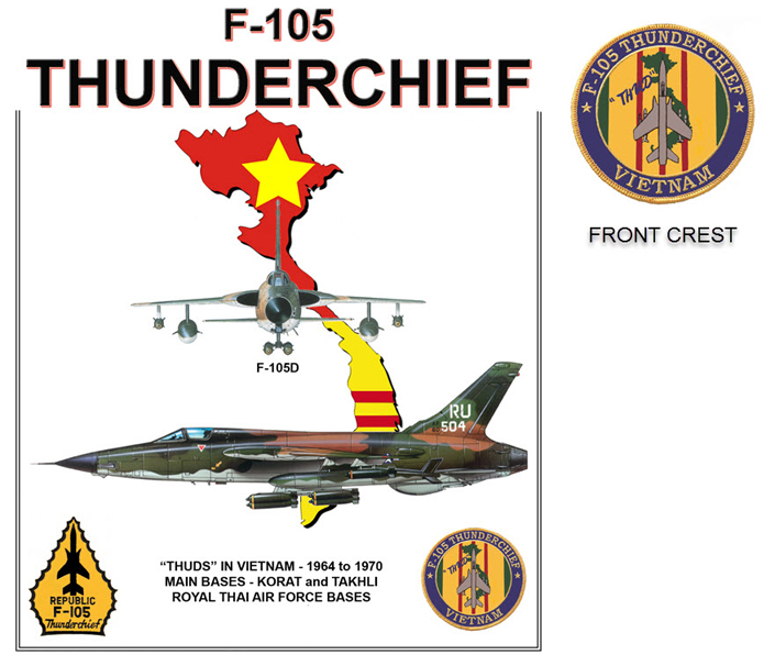 F-105 Thunderchief In Vietnam