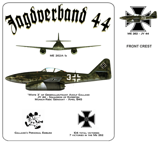 Jagdverband 44 - Adolf Galland's Me-262 Jet Fighter
