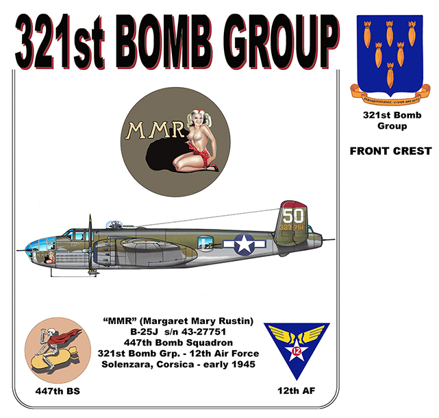 "321st Bomb Group - ""MMR"""