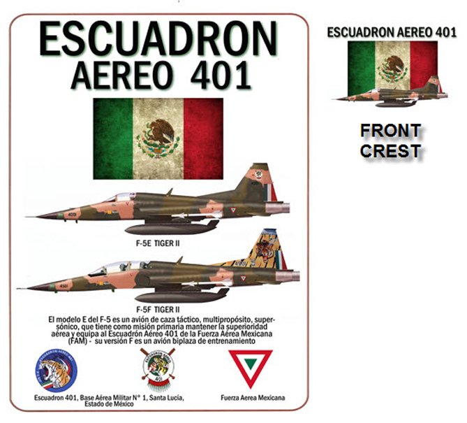 F-5 Tiger II - Mexican Air Force