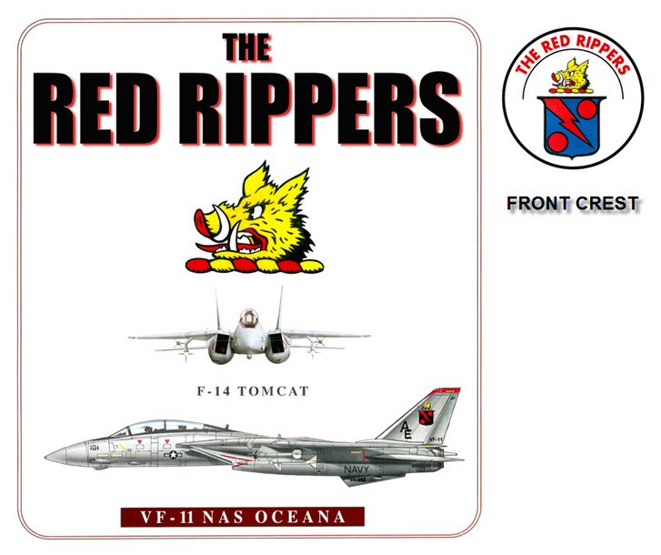 F-14 Tomcat - VF-11 Red Rippers Squadron