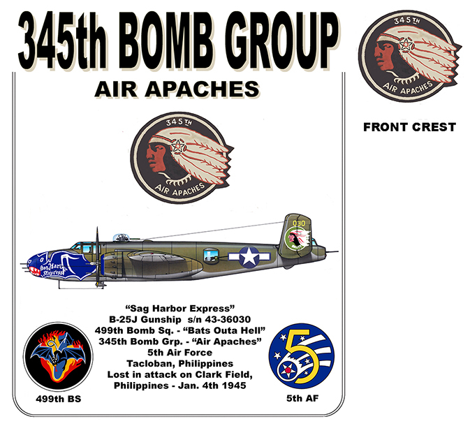 "345th Bomb Group - ""Sag Harbor Express"""