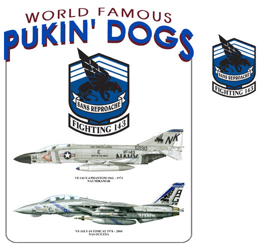 Pukin' Dogs Transition - F-4 to F-14