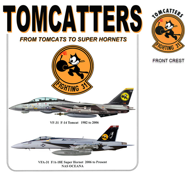 Tomcatters Transition - F-14 to F-18