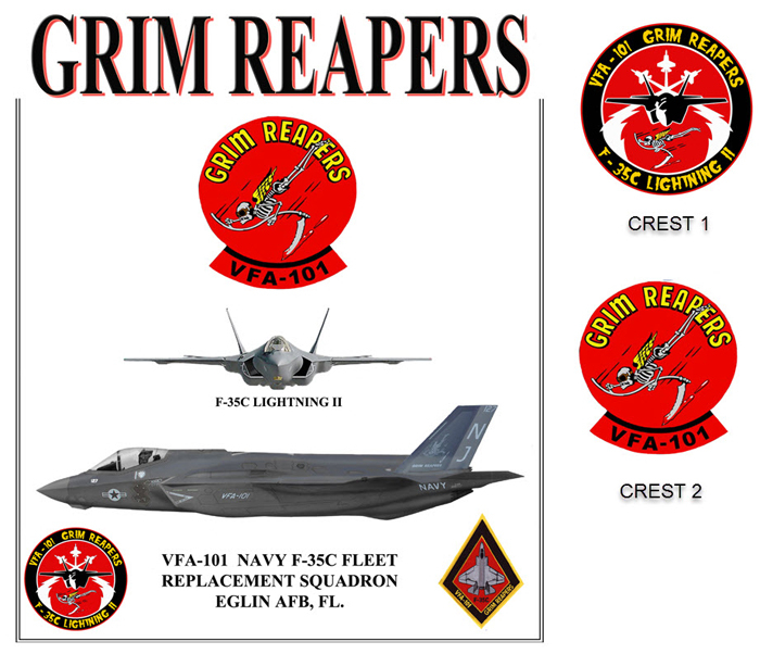 F-35 - VFA-101 Grim Reapers