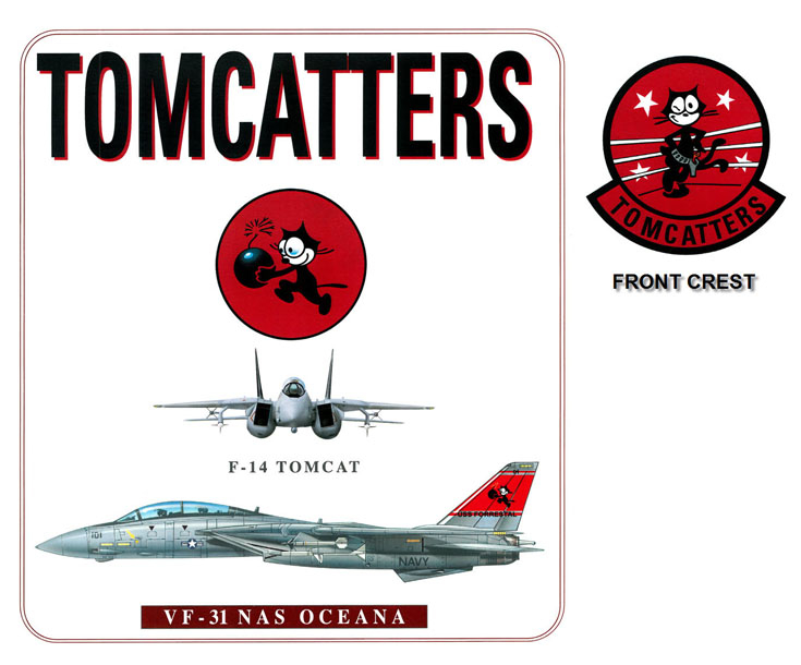 F-14 Tomcat - VF-31 Tomcatters Squadron